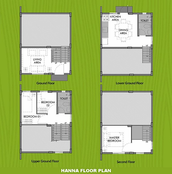Hanna Floor Plan House and Lot in Tanza