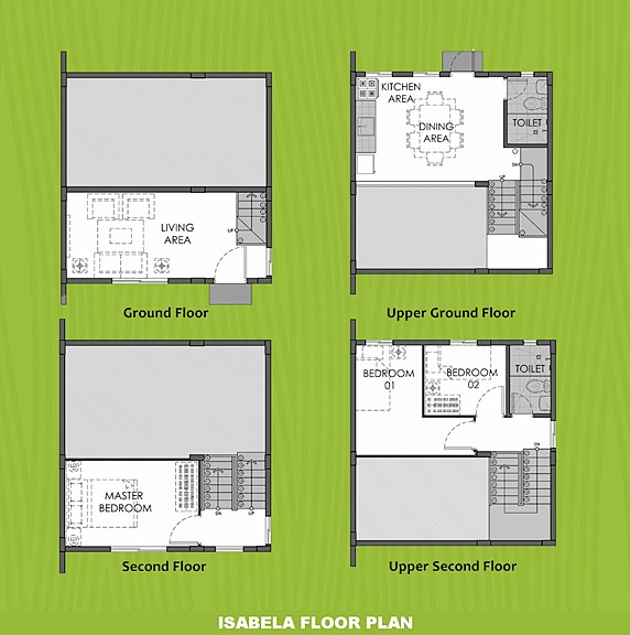 Isabela Floor Plan House and Lot in Tanza