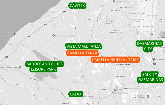 Tanza Property Vicinity Map