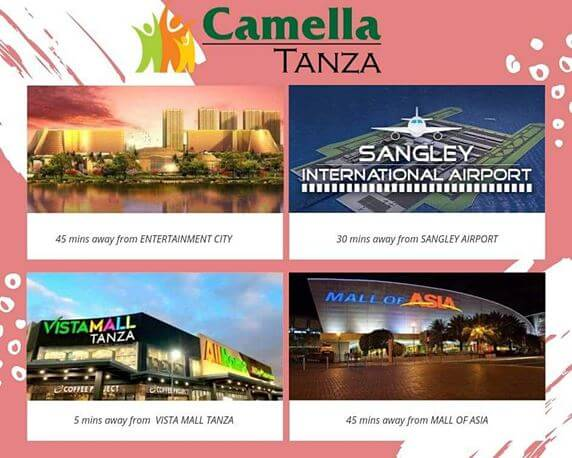 News regarding Camella Tanza.