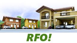 RFO Units for Sale in Camella Tanza.